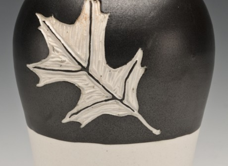 Oak Leaf Jar